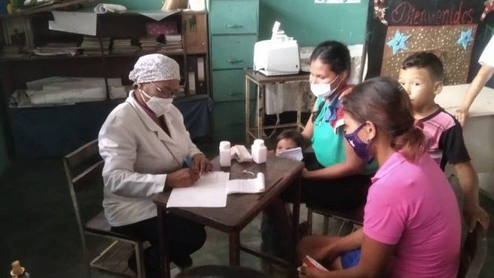 Gobierno de Yaracuy atiende a 1.126 personas en jornada de salud organizadas en los municipios Bolívar, Manuel Monge y Veroes