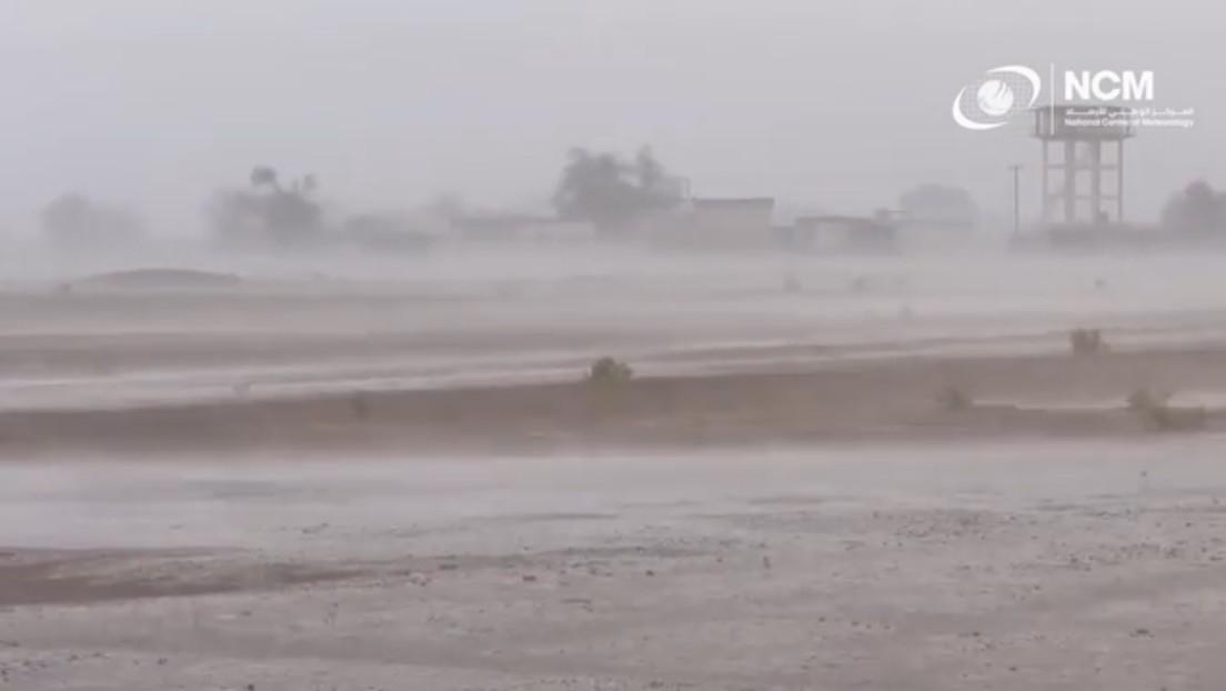 Emiratos Árabes Unidos provoca fuertes lluvias artificiales con una nueva tecnología en medio de una ola de calor de casi 50 grados