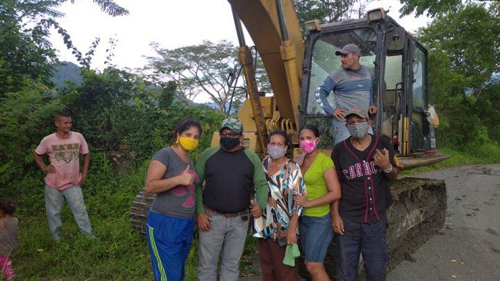 Gobierno Bolivariano de Yaracuy habilita maquinaria para atender inundaciones que afectan a productores de Cocorote y La Trinidad
